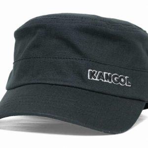 kangol  ripstop army cap (blk) 009