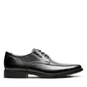 Clarks Tilden Walk (Black Leather)