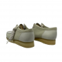 Clarks Wallabee 2CLR (White Combi)