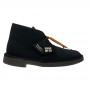 clarks Desert boot (black suede)