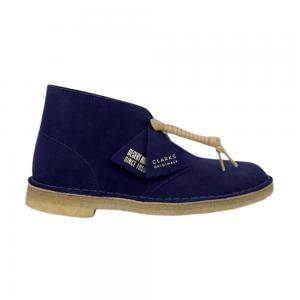 clarks desert boot (deep purple suede)