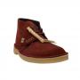 clarks desert boot (rust brown suede)