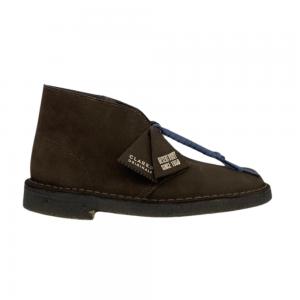 clarks desert boot (brown suede)