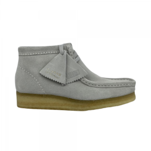 Clarks Wallabee Boot (blue grey suede)