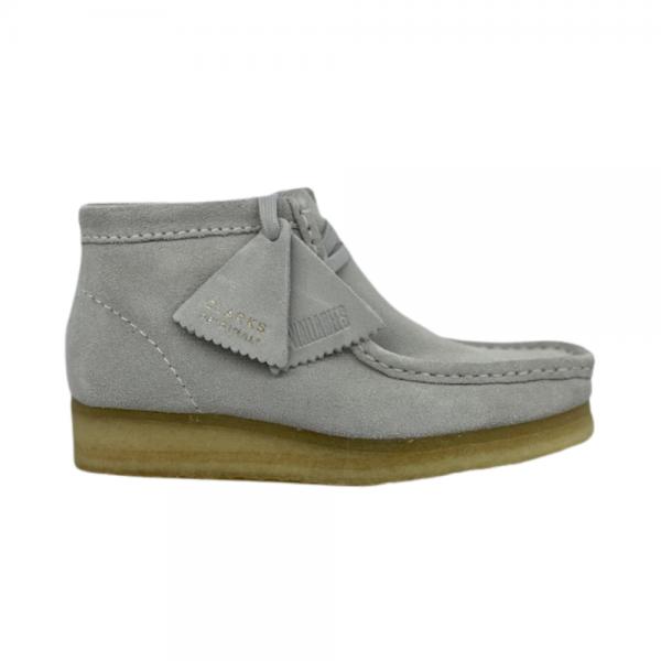 Clarks Wallabee Boot (blue grey suede)