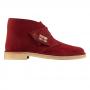 clarks desert boot (cherry Suede)