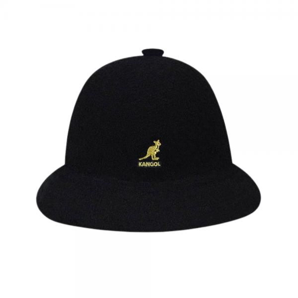Kangol Bermuda Casual (black/gold)