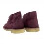 Ladies Clarks Desert Boot (Merlot Suede)