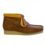 Clarks Wallabee Boot (Multicolour Suede)