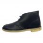 Clarks Desert Boot (Navy Leather)