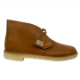 Clarks Desert Boot (Dark Tan Leather)