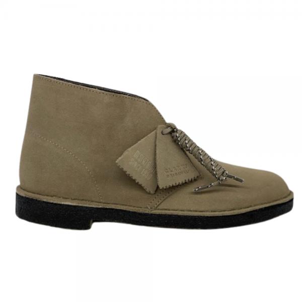 Clarks Desert Boot (Grey Suede)