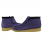 clarks wallabee boot (purple interest)