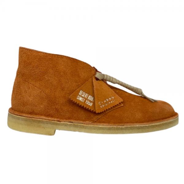 clarks desert boot (ginger suede)