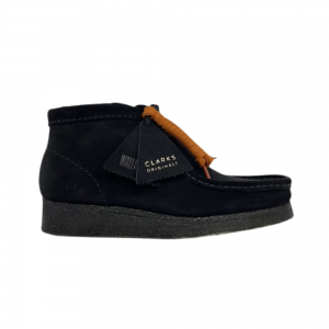Clarks Wallabee Boot (black suede)