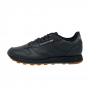 Reebok CL Leather (Black/Gum)