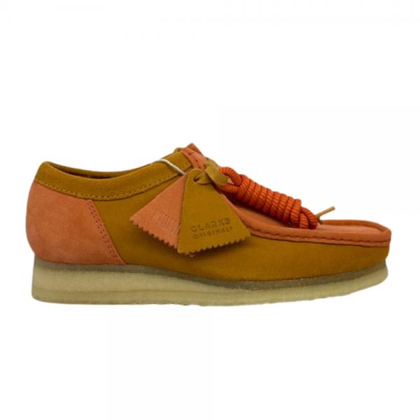 Clarks Wallabee 2CLR (Orange Combi)