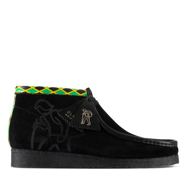 Clarks Jamaica Wallabee Boot (Black/Multi)