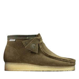 Clarks Wallabee Boot (olive) (Carhartt)