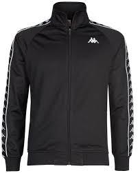 kappa 222 banda anniston slim jacket (blk) (025)